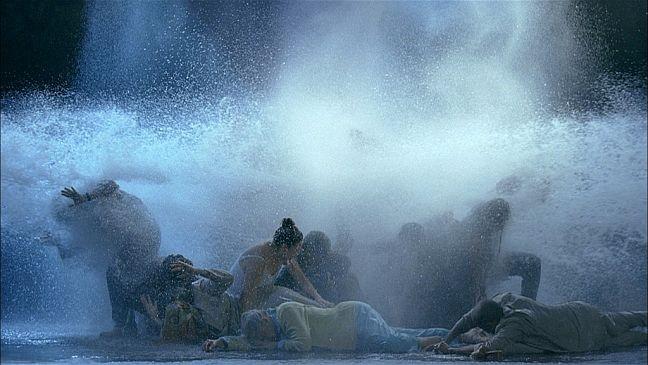A Tempestade (Foto: Bill Viola e Kira Perov)