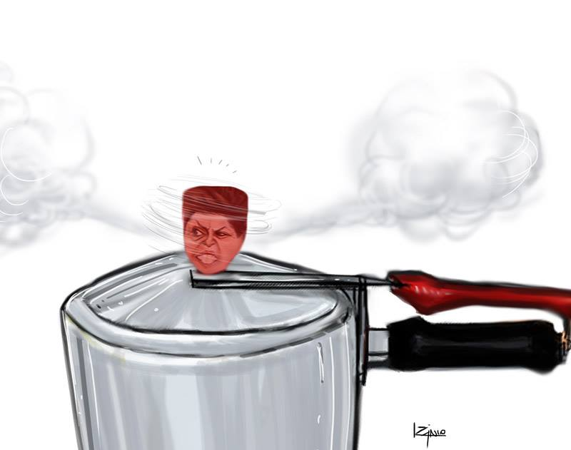 Pressao - Dilma