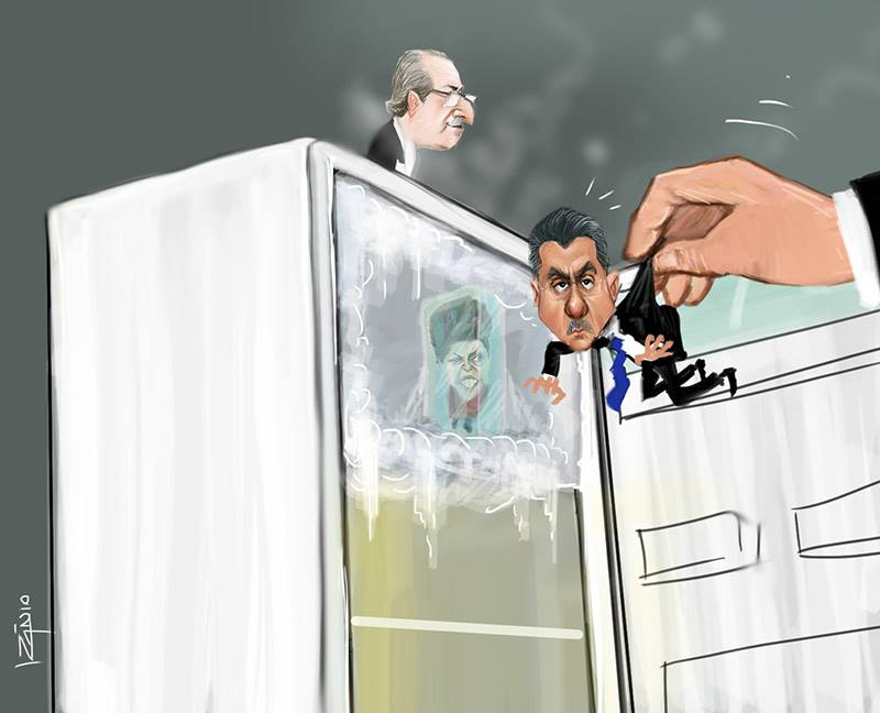 Izanio - Dilma Cunha Juca geladeira