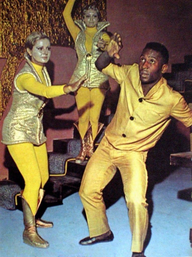 """Rei Pelé - ator - """"Os estranhos"""" - 1969"""