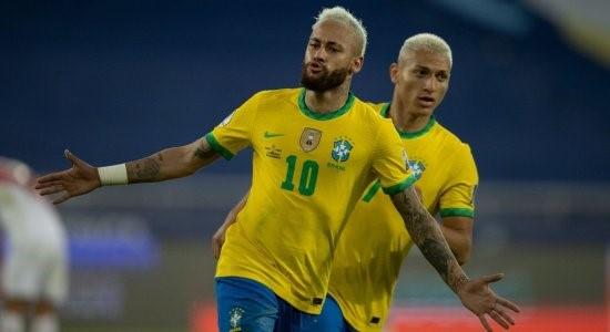 neymar - seleção brasil x peru