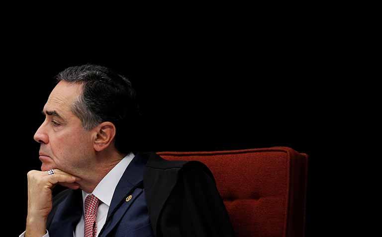 Barroso - ringue - bolsonaro