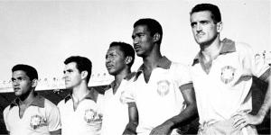 Ataque Brasileiro -Garrincha Evaristo Índio Didi e Joel