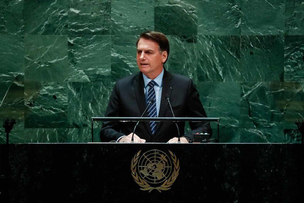 BOLSONARO - DISCURSO ONU