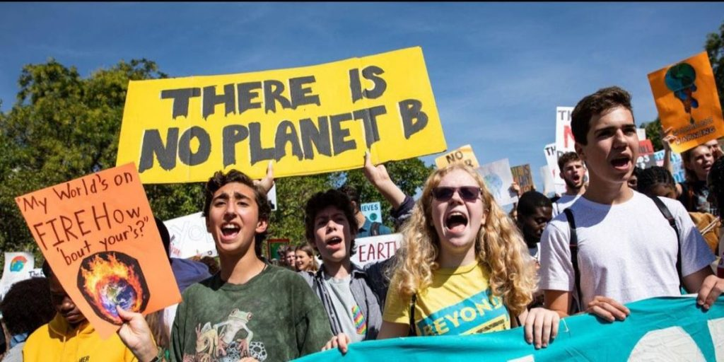 jovens ativistas